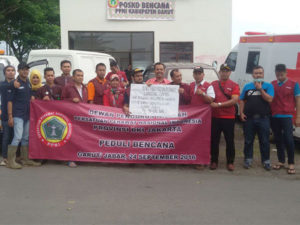 Tim Relawan peduli Bencana garut PPNI DKI Jakarta