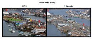 Ishinomaki before after